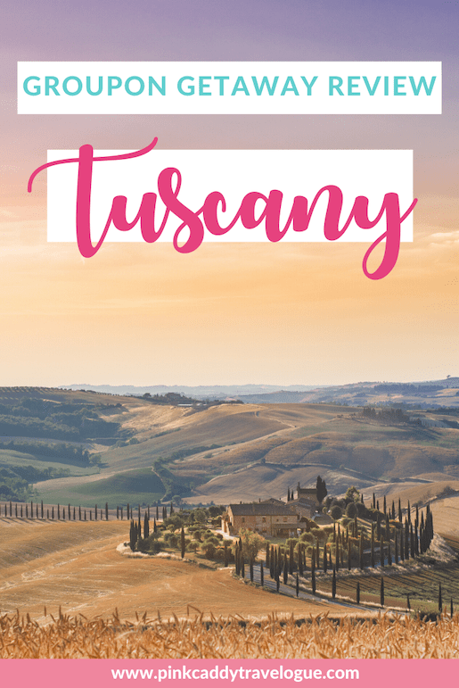 Ever wondered if they cheap Groupon getaway deals are worth it? Then check out my Groupon getaway review for our trip to Tuscany! #groupon #italy #tuscany #traveldeals