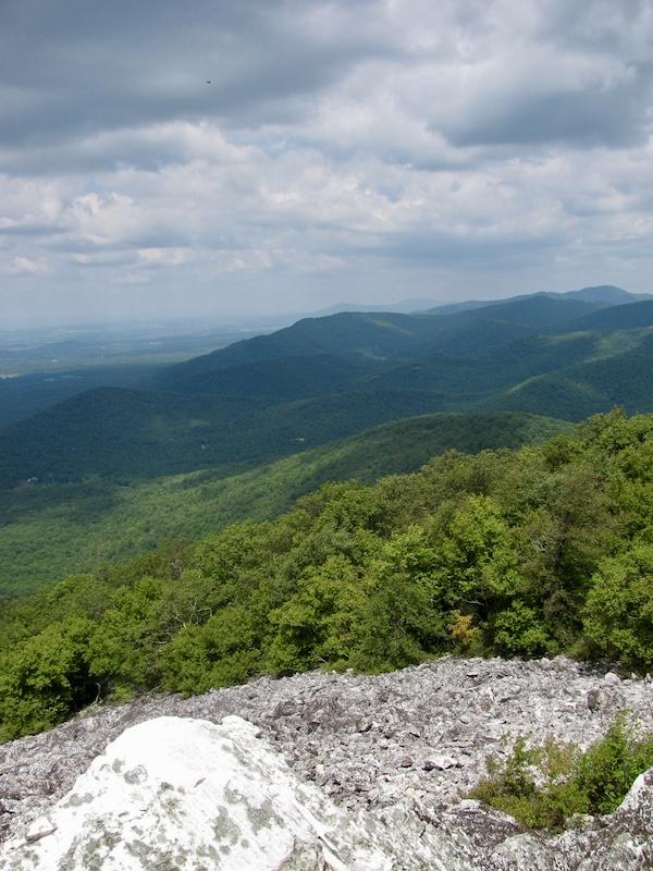 Turk mountain best hikes in Shenandoah national park