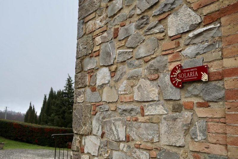 Tuscan winery solaria