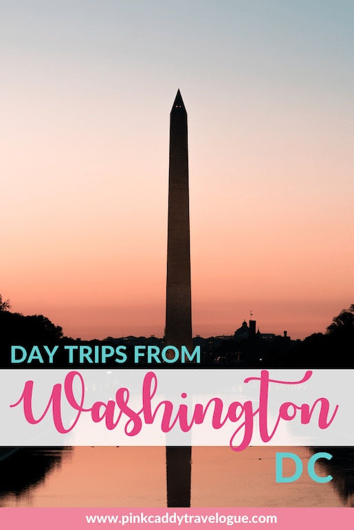 There are so many great places to visit just a short distance outside of the US capital! Check out the best day trips from DC #washingtondc #virginia #usa #travel