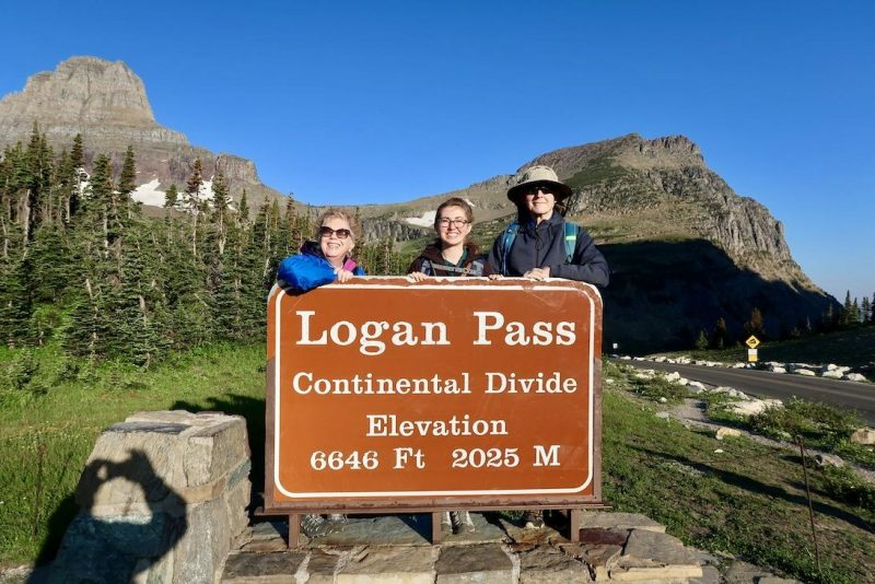 Logan pass - glacier national park itinerary