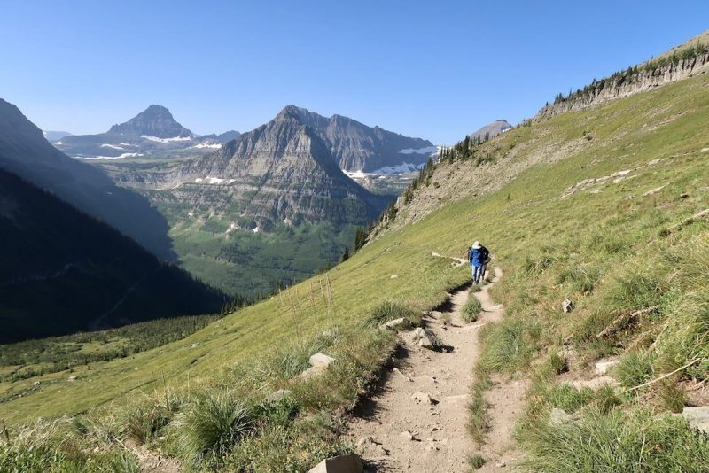Highline trail - glacier national park itinerary