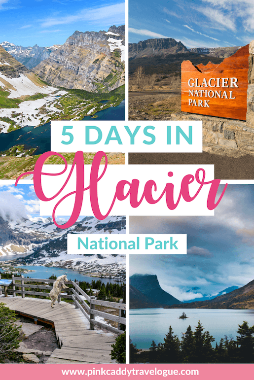 This is the perfect, 5-day Glacier National Park itinerary! No matter who you are - hiker or couch-potato, single or a family with kids - this itinerary will make sure you get the most out of your time in this beautiful park. #montana #usa #travel #glaciernationalpark