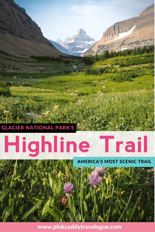 The Highline Trail is one the most popular and scenic trails in the USA! Read on for what you need to know before you hike it! #montana #usa #highlinetrail #travel #hiking