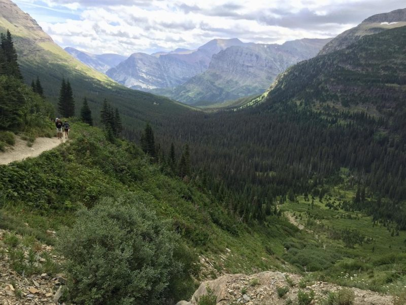 Iceberg lake trail - glacier national park itinerary