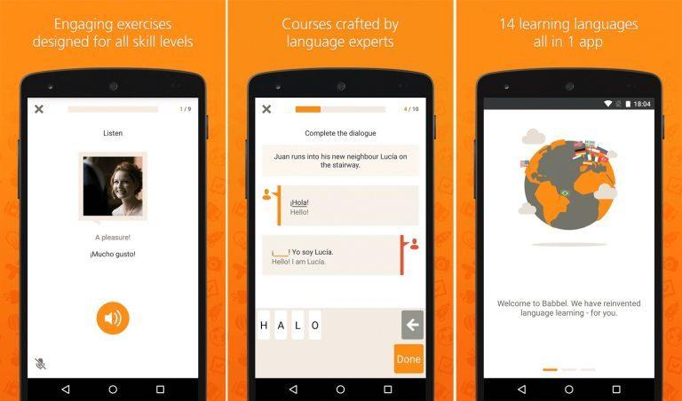 Babbel ways to learn a language
