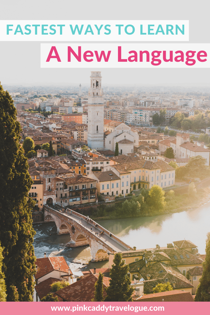 These are the most efficient ways to learn a new language before your next international trip! #travel #foreignlanguage #learning #learnalanguage #babbel #duolingo #rosettastone