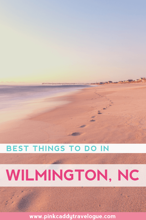 This coastal city is full of charm and southern hospitality! Here's a list of some of the fun things to do in Wilmington, NC! #travel #usa #northcarolina #wilmington #beach