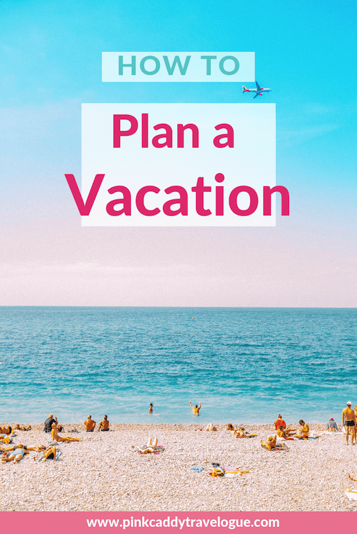 Would you like to travel more but are too daunted by actually planning the trip? Check out my how-to guide creating the perfect vacation itinerary! #travel #itinerary #tripplanning
