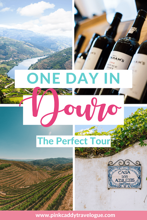 Portugal's Douro Region is a can't-miss destination, especially for wine lovers - it's the oldest wine region in the world. What's the best way to fully experience this beautiful place if you only have one day? Read on for the best Douro Valley tour #portugal #dourovalley #douroriver #port #portwine #travel
