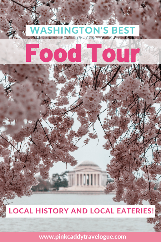 Want to get off the beaten path and learn about Washington's local history while eating delicious food? Then you need to check out this DC food tour! #washingtondc #dcfoodtour #dc #travel #foodtour #usa