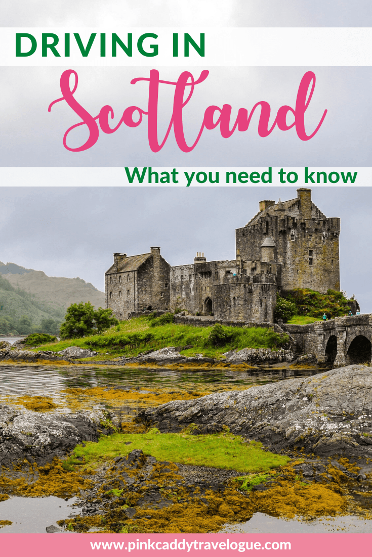Planning a Scottish road trip? Nervous about driving on the left side of the road? Here are 8 helpful tips you need to know about driving in Scotland! #scotland #uktravel #roadtrip