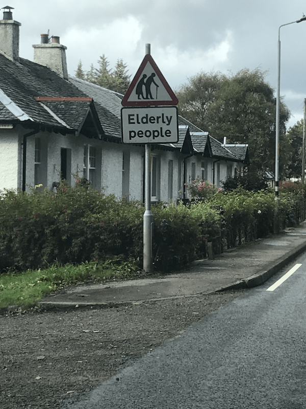 roadsigns in Scotland