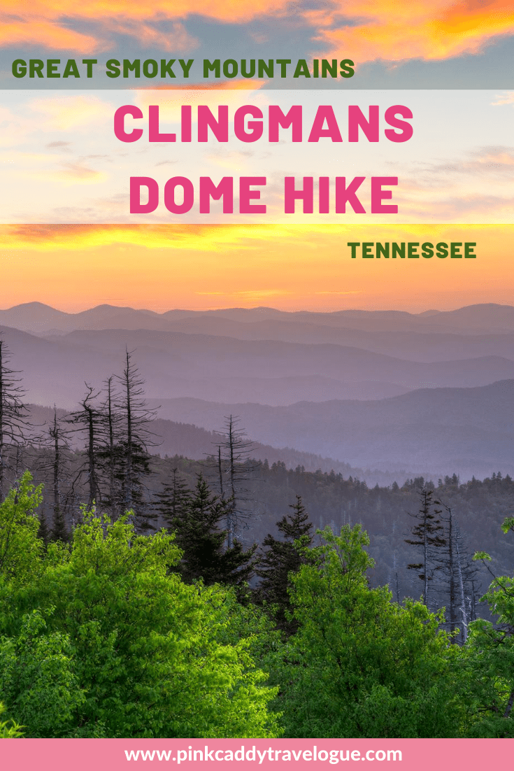 The Clingmans Dome hike is a must-do activity in Great Smoky National Park! This article has everything you need to know before visiting the Smokies' highest mountain #tennessee #greatsmokymountians #clingsmansdome #usa #hiking