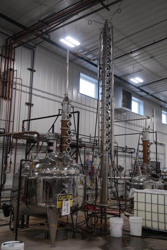 Sevier distilling co