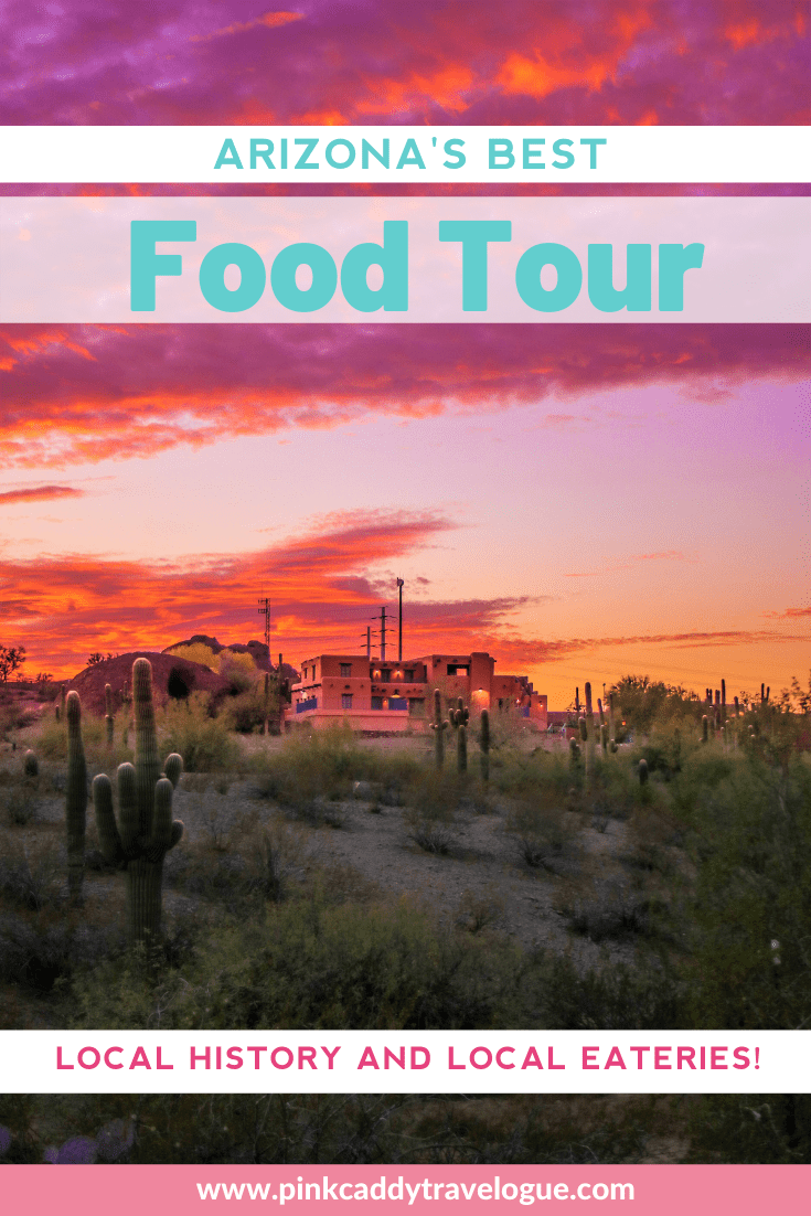 Headed to Arizona? Make sure to put this Scottsdale food tour on your list! Get to try a wide variety of local foods and learn about the history of this southwestern town. #arizona #scottsdale #foodtour #usatravel #usafood