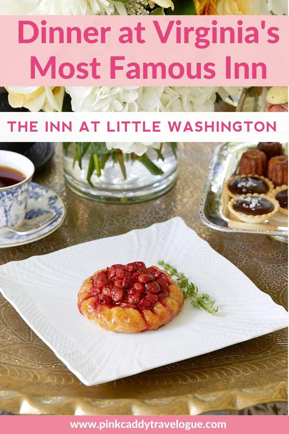 The Inn at Little Washington is the only resturant with 3-Michelin stars in the DC area. To know what it's like to eat there, check out my review! #virginia #foodie #innatlittlewashington #michelinresturants